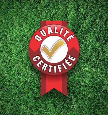 qualité certifiée tonte de pelouse gazon laval